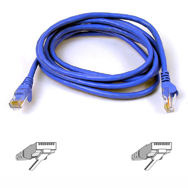 CAT6 Snagless Molded Patch Cable Stranded  24AWG  copper conductors offer superior conductivity over smaller gauges and provide increased flexibility to prevent kinking