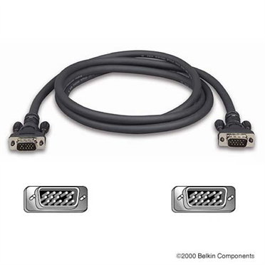 Pro Series High Integrity VGA/SVGA Monitor Replacement Cable Provides as a replacement video and high-resolution multimedia monitor cable with a HDDB15 connector to your PC.  Recommended for monitors 17