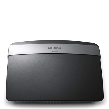 Linksys E2500 N600 Dual-Band Wireless Router -$ FrontViewImage