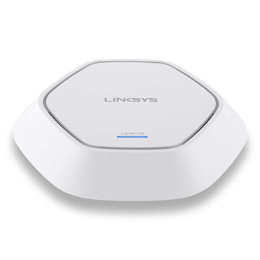 Linksys LAPAC1750 Business Access Point Wireless Wi-Fi Dual Band 2.4 + 5GHz AC1750 with PoE -$ FrontViewImage
