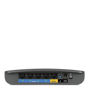 Linksys E900 N300 Wireless Router -$ SideView1Image