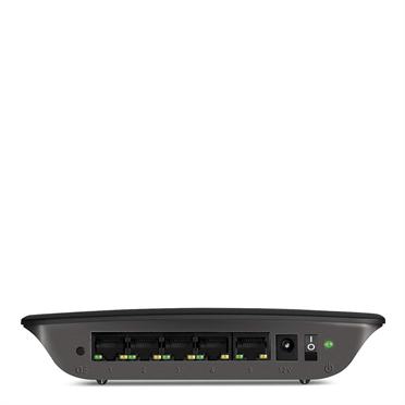 Linksys SE2500 5-Port Gigabit Ethernet Switch -$ FrontViewImage