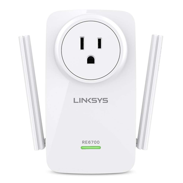 Linksys RE6700 AC1200 AMPLIFY Dual-Band Wi-Fi Range Extender -$ HeroImage