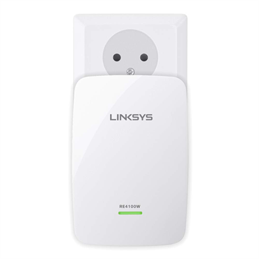 Linksys RE4100W N600 Dual-Band Wireless Range Extender -$ FrontViewImage