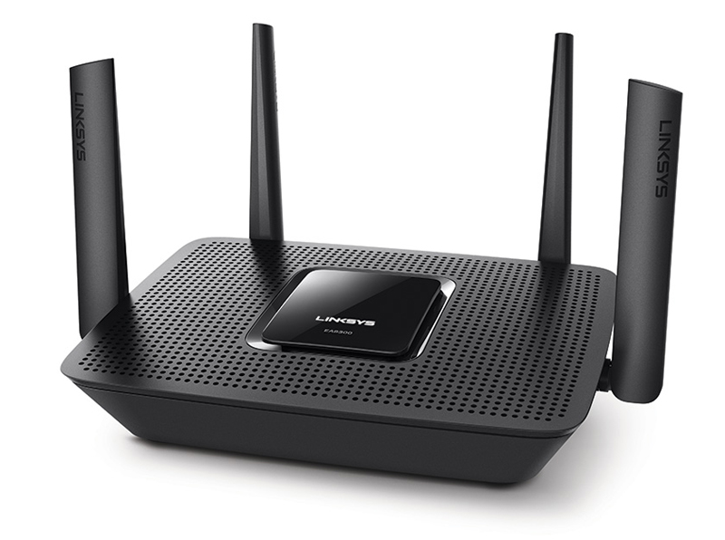 Linksys Max-Stream AC2200 Tri-Band Router (EA8300) MU-MIMO Wi-Fi Wireless Router