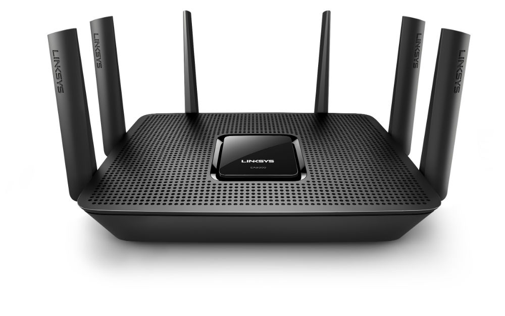 Linksys Max-Stream AC4100 Tri-Band Router (EA9300) MU-MIMO Wi-Fi Wireless Router
