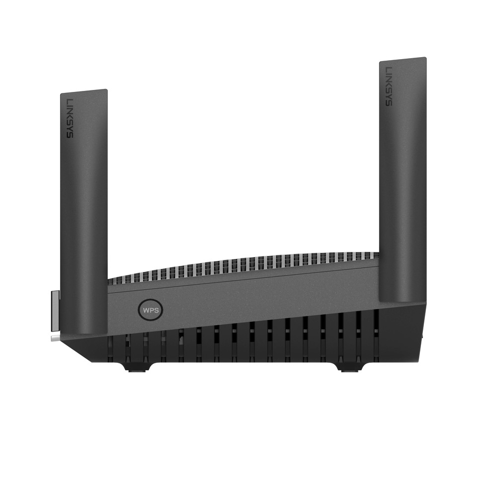 Linksys Dual-Band Mesh WiFi 6 Router (MR9600) -$ SideView1Image