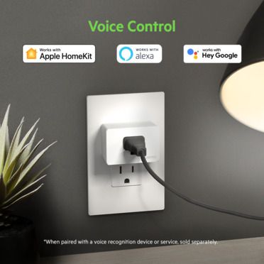 Wemo WiFi Smart Plug -$ SideView1Image