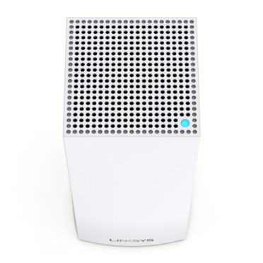 Linksys Velop Whole Home Intelligent Mesh WiFi 6 (AX4200) System, Tri-Band, 1-pack -$ TopViewImage