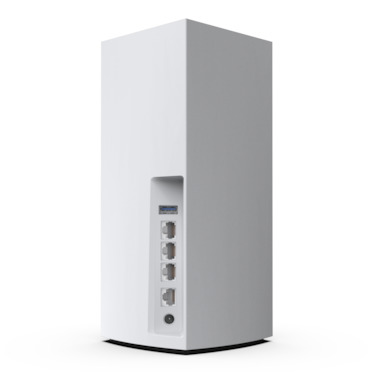 Linksys Velop Whole Home Intelligent Mesh WiFi 6 (AX4200) System, Tri-Band, 2-pack -$ SideView1Image