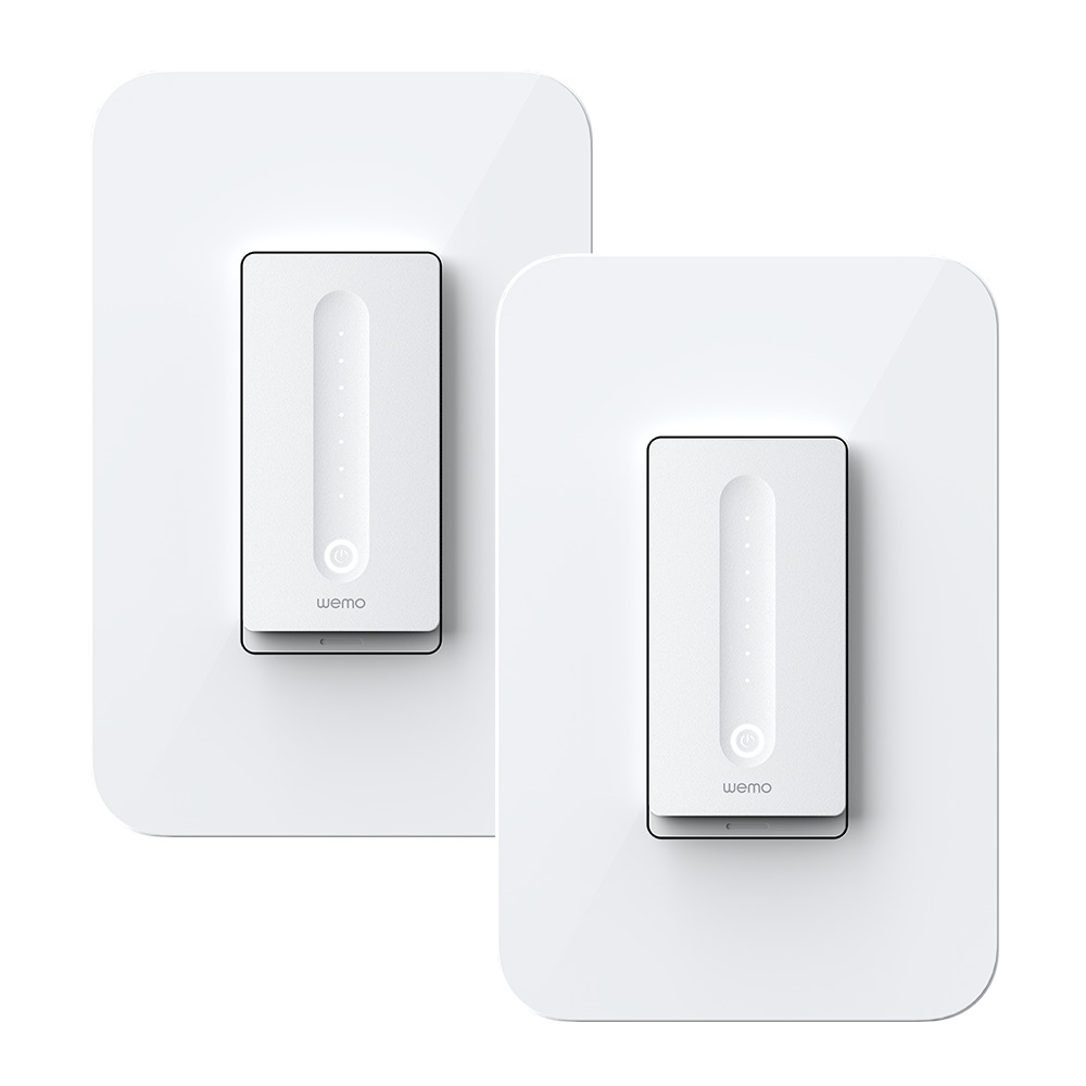 Wemo WiFi Smart Dimmer 2-Pack -$ HeroImage