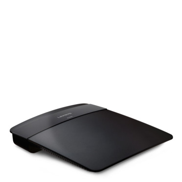 Linksys E1200 N300 Wi-Fi Router -$ SideView1Image