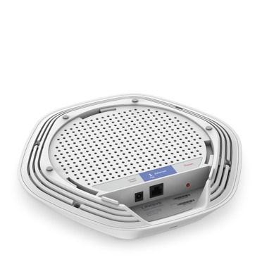 Linksys Business LAPAC1200C AC1200 Dual-Band Cloud Wireless Access Point -$ SideView1Image