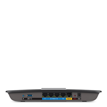 Linksys EA6300 AC1200 Dual-Band Wi-Fi Router -$ SideView1Image