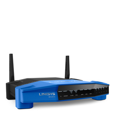 Routeur sans-fil intelligent double bande AC1200 WRT1200AC Linksys -$ FrontViewImage