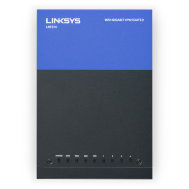 Linksys LRT214 Business Gigabit VPN Router -$ TopViewImage