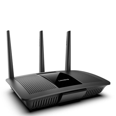 Linksys EA7450 Max-Stream™ AC1900 MU-MIMO Gigabit Wi-Fi Router -$ SideView1Image