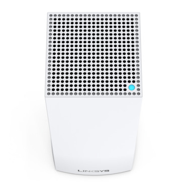 Linksys MX10600 Velop Whole Home Intelligent Mesh WiFi 6 (AX) System, Tri-Band, 2-pack -$ TopViewImage