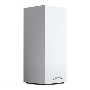 Linksys Velop Whole Home Intelligent Mesh WiFi 6 (AX5300) System, Tri-Band, 1-pack -$ FrontViewImage