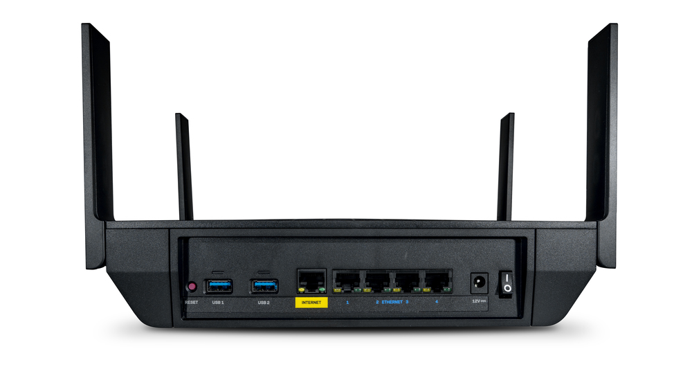 Linksys Max-Stream EA9350 Dual-Band WiFi Router, AX4500 MU-MIMO -$ BackViewImage