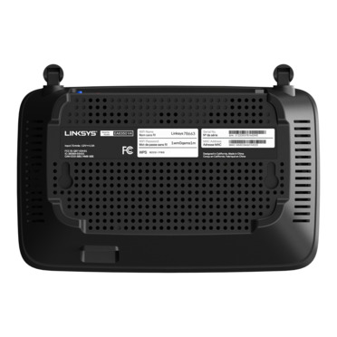 Routeur Wi-Fi double bande Linksys EA6350V4 AC1200 -$ SideView1Image