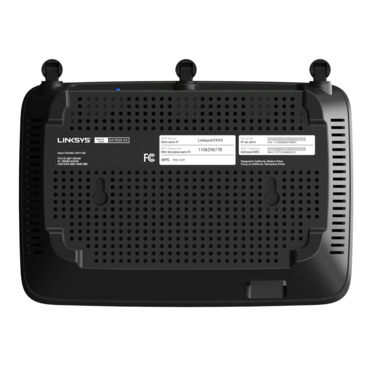 Linksys EA7500-AHv2 Max-Stream™ AC1900+ MU-MIMO Gigabit Wi-Fi Router -$ SideView1Image
