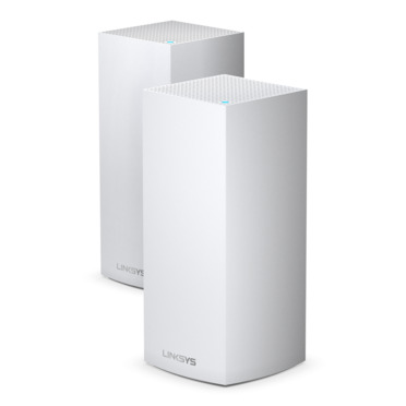 Linksys MX10600 Velop Whole Home Intelligent Mesh WiFi 6 (AX) System, Tri-Band, 2-pack -$ HeroImage