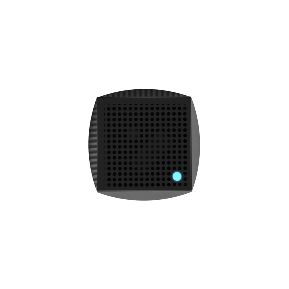 Linksys Velop Intelligent Mesh WiFi System, Tri-Band, 2-Pack Black (AC4400) -$ TopViewImage