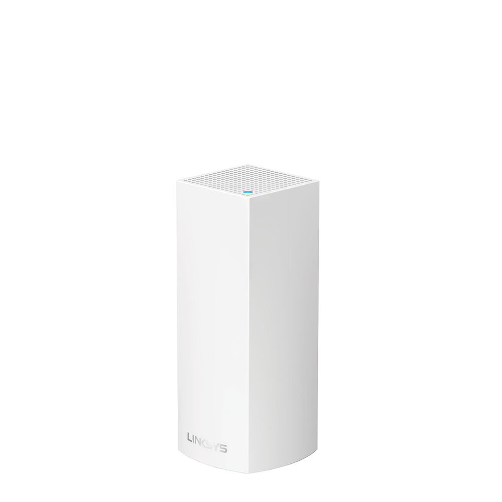 Linksys Velop Intelligent Mesh WiFi System, Tri-Band, 1-Pack White (AC2200) -$ HeroImage