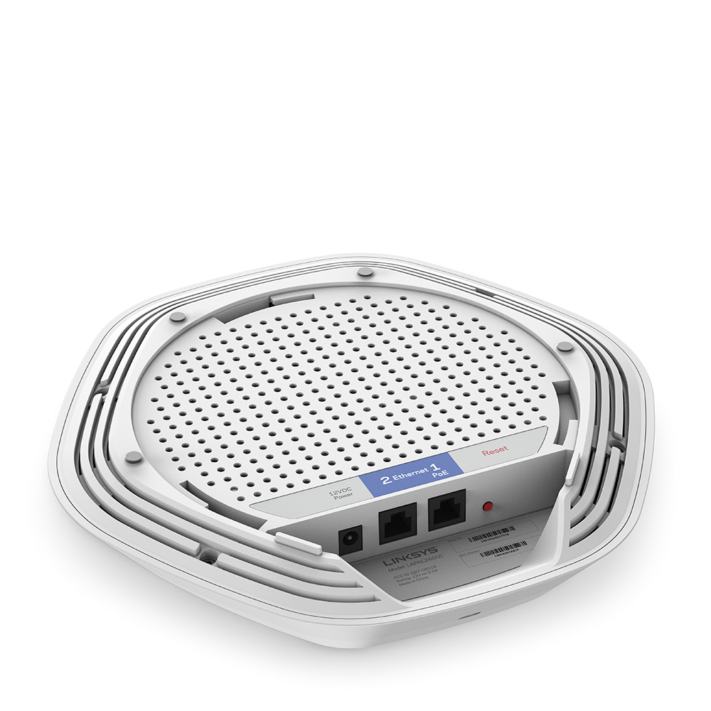 Linksys Business LAPAC2600C AC2600 Dual-Band Cloud AC Wave 2 Wireless Access Point -$ SideView1Image