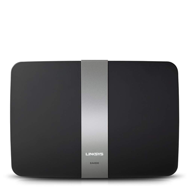 Linksys EA4500 N900 Dual-Band Wi-Fi Router -$ FrontViewImage