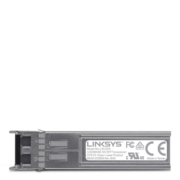 Linksys LACGSX 1000Base-SX SFP Transceiver for Business -$ HeroImage