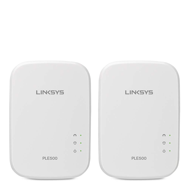 Linksys PLEK500 Powerline Wired Network Expansion Kit -$ HeroImage