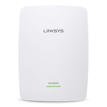 Linksys RE4000W N600 Dual-Band Wireless Range Extender -$ HeroImage