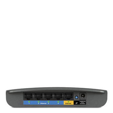 Linksys E900 N300 Wi-Fi Router -$ SideView1Image