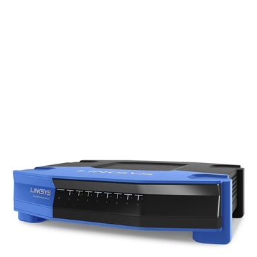 Linksys SE4008 WRT 8-Port Gigabit Ethernet Switch -$ FrontViewImage
