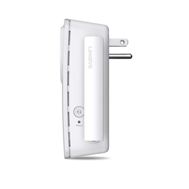 Linksys RE6700 AC1200 AMPLIFY Dual-Band Wi-Fi-range-extender -$ SideView1Image