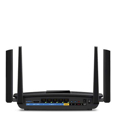Linksys EA8500 Max-Stream™ AC2600 MU-MIMO Gigabit Wi-Fi Router -$ BackViewImage