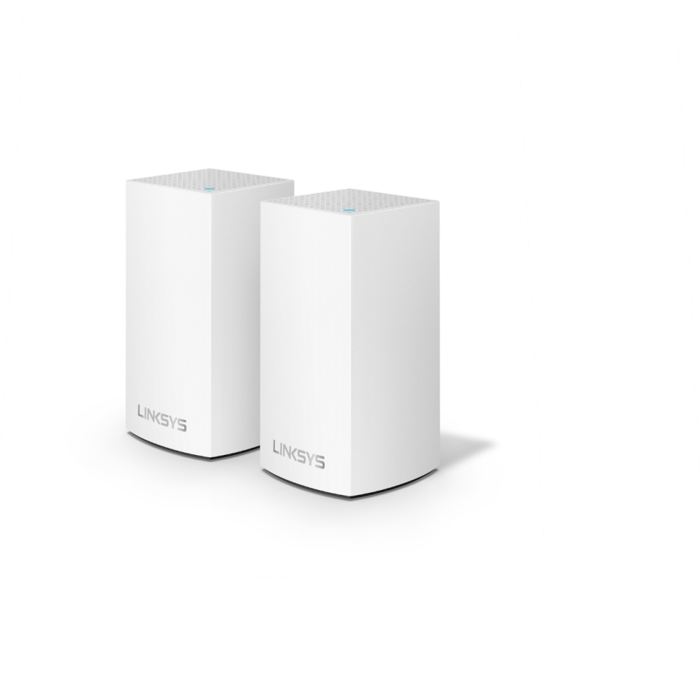 Linksys Velop Intelligent Mesh WiFi System, 2-Pack White (AC2600) -$ HeroImage