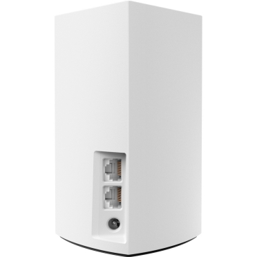 Linksys Velop Intelligent Mesh WiFi System, 1-Pack White (AC1300) -$ BackViewImage