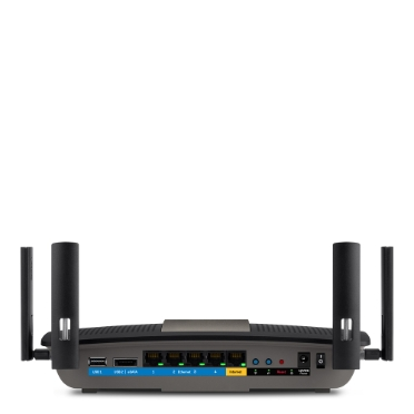 Linksys E8400 AC2400 Dual-Band Wi-Fi Router (Certified Refurbished) -$ BackViewImage