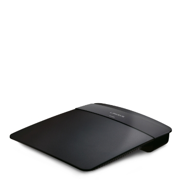 Router inalámbrico N300 Linksys E1200 -$ SideView1Image