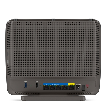 Linksys EA9200 AC3200 Tri-Band Wi-Fi Router -$ BackViewImage