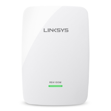 Extensor de alcance inalámbrico de doble banda N600 Linksys RE4100W -$ HeroImage
