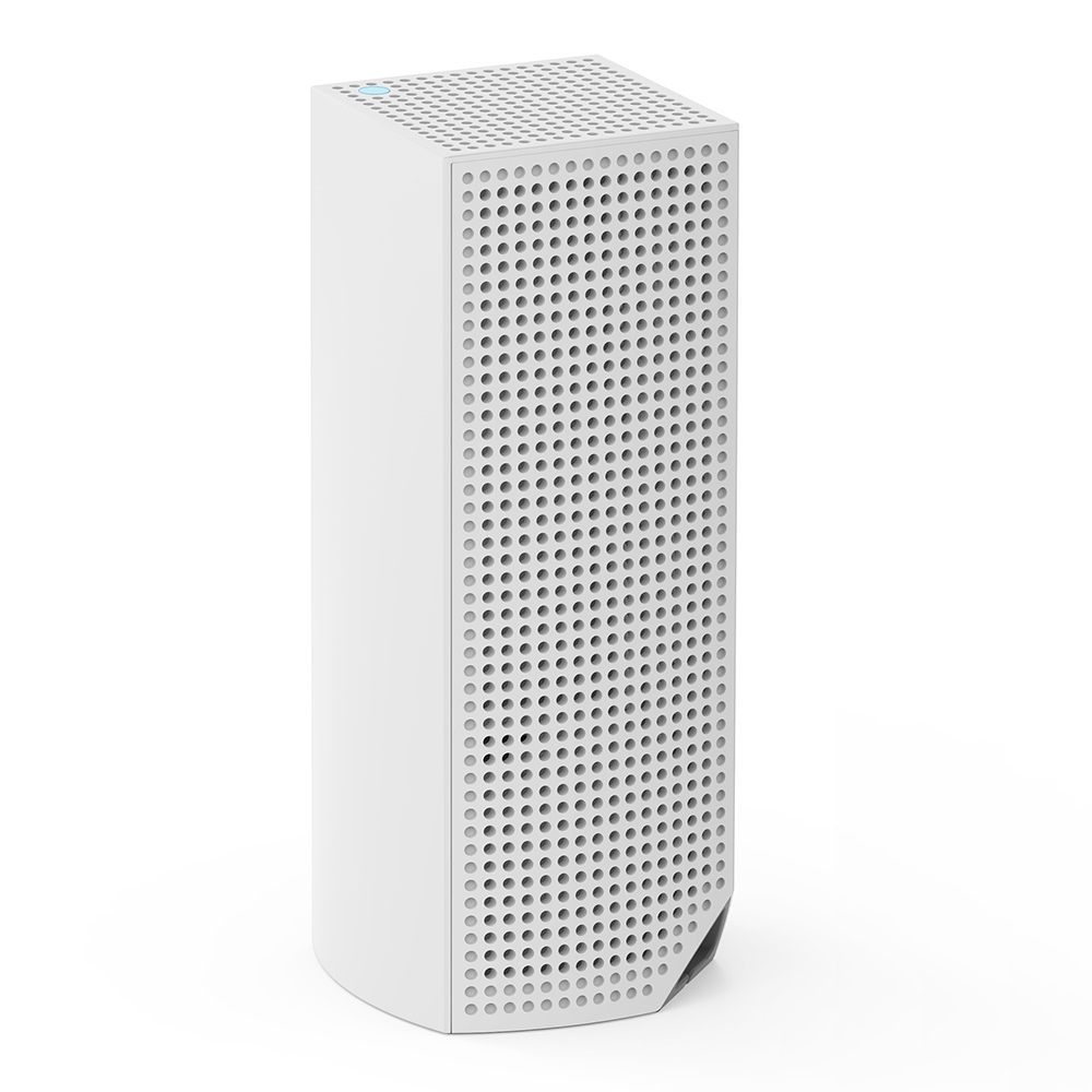Linksys Velop Intelligent Mesh WiFi System, Tri-Band, 1-Pack White (AC2200) -$ SideView1Image
