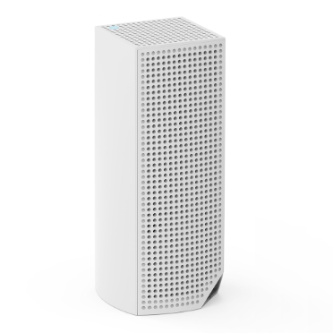 Linksys Velop Whole Home Intelligent Mesh WiFi System, Tri-Band, 3-pack -$ SideView1Image