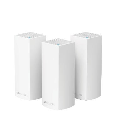 Linksys Velop multiroom Intelligent Mesh Wi-Fi-systeem, tri-band, 3-pack - Image