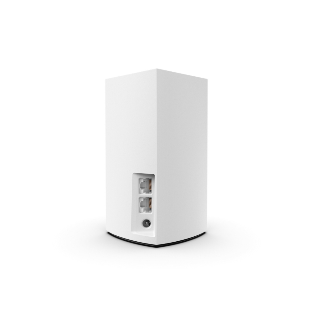 Linksys Velop Intelligent Mesh WiFi System, 2-Pack White (AC2600) -$ SideView1Image