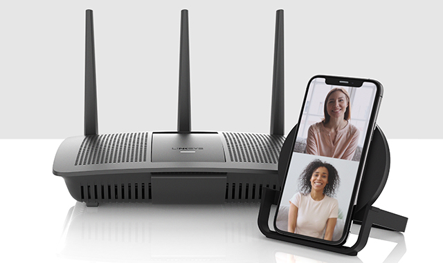 Together From Home. Linksys and Belkin help you stay connected.