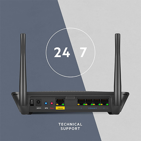 24/7 Technical Support for your Linksys MR6350